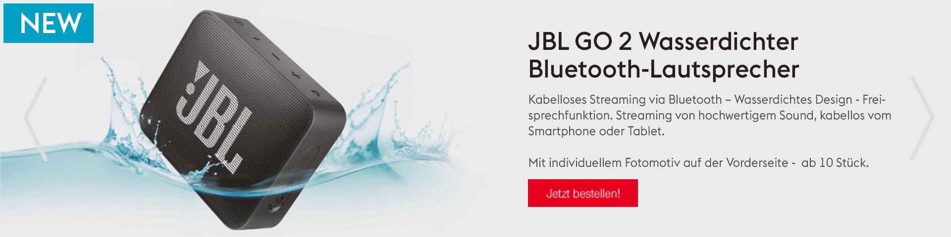 JBL GO 2 Wasserdichtet Bluetooth-Lautsprecher
