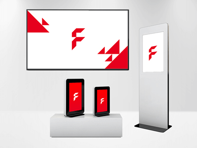 Digitale Displays & Software